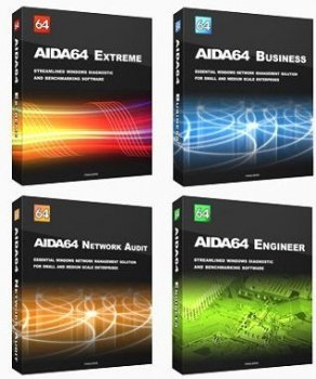 AIDA64 Extreme / Engineer / Business / Network Audit 5.75.3900 Final (2016) PC | RePack & portable by KpoJIuK