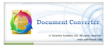 Soft4Boost Document Converter 4.7.1.465 (2016) PC | Portable by Spirit Summer
